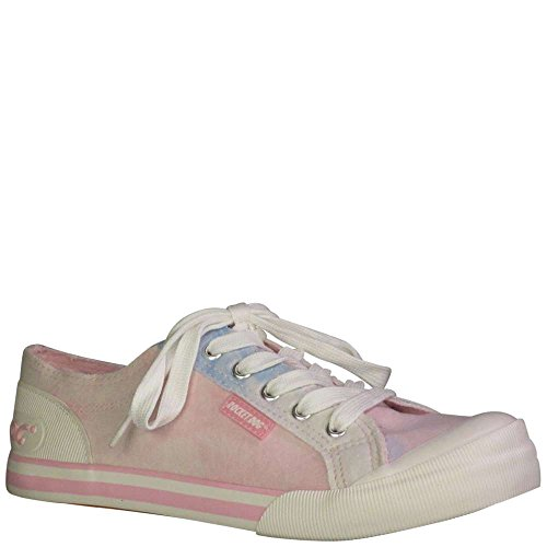 Rocket Dog Women's Jazzin Vision Cotton Sneaker, Pink, 6.5 M (Rocket Dog Zappos)