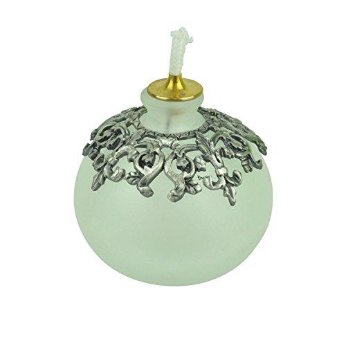 2½ Oil Lamp - Fleur de Lis