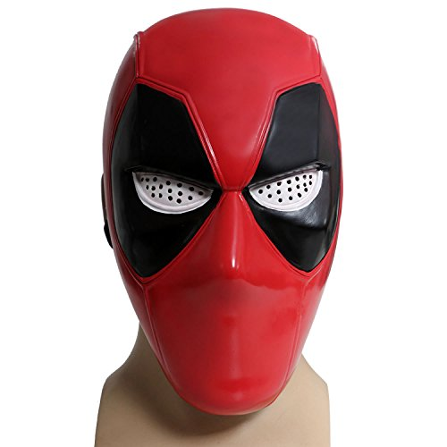 Hotwinds X Cosplay Men DP Props Painted PVC Half Face Mask For Halloween Adult