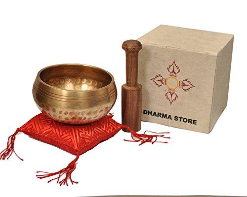 Lokta Box - Dharma Store - Tibetan Singing Bowls Set - Meditation Yoga Healing Relaxation Therapy - Himalayan Bowl