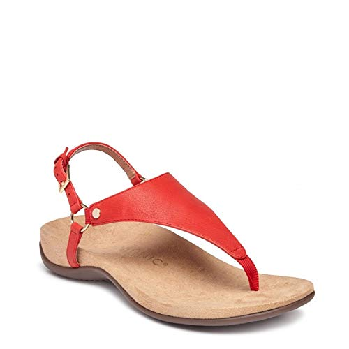 fb33f23bd9b93 Vionic Women's Kirra Backstrap Sandals in Natural Snake
