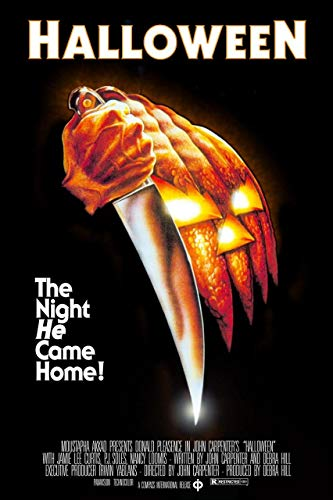 Halloween Movie Posters (Kopoo Buyartforless John Carpenters Halloween (1978) Classic Movie Art Print Poster, 24