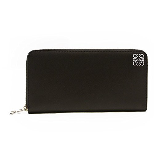 (ロエベ) LOEWE 財布 長財布 109N54.F13 1100 ZIP AROUND WALLET BLACK [並行輸入品] B00TMYXBII
