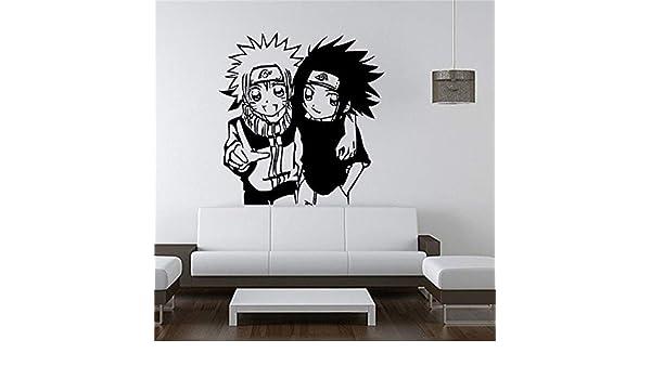 zhuziji Etiqueta de la Pared Mural Decal Vinyl Decor Naruto Y ...