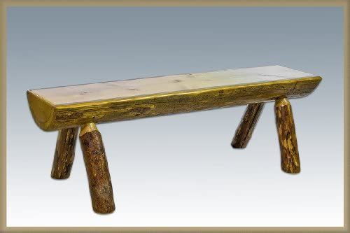 Log Furniture – 5 Log Bench 48 States