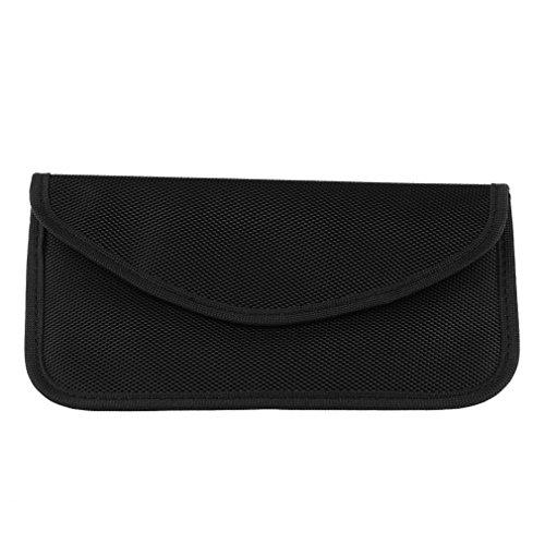 FSSR Mobile Phone RF Signal Blocker/Jammer Anti-Radiation Shield Case Bag Pouch (black)