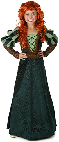 (Princess Paradise Child Forest Princess Costume,)