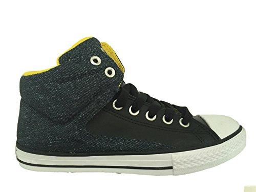 Converse Jungen Boy Sneaker Gr. 38.5 (US6) Chuck Taylor All Star grün schwarz High Top *** 651785F *** Canvas