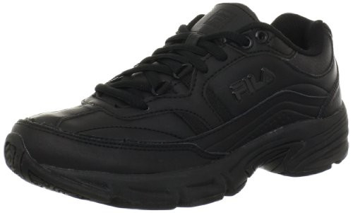 Fila Women's Memory Workshift Cross-Training Shoe,Black/Black/Black,8.5 M US