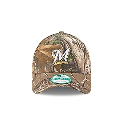Milwaukee Brewers The League Realtree Camo 9FORTY Adjustable Hat / Cap by New Era