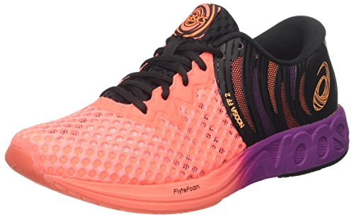 Shocking Chaussures Coral De black flash rose Homme Running 0630 Multicolore Orange 2 Asics Noosa Ff ztZIPP