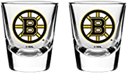 NHL Boston Bruins Shot Glass, 2-Pack