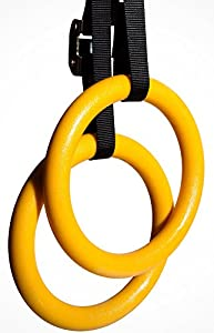 Nayoya Gymnastic Rings for Full Body Strength and Crossfit Training