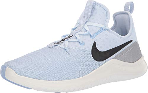 Nike Women's Free TR 8 Training Shoes (6, Blue/Black/Silver)