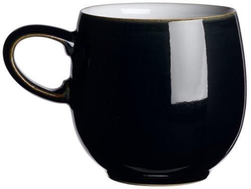 Denby Jet Black Small Curve - Curve Mug