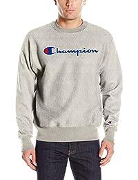 Champion Mens Life Reverse Weave Crew