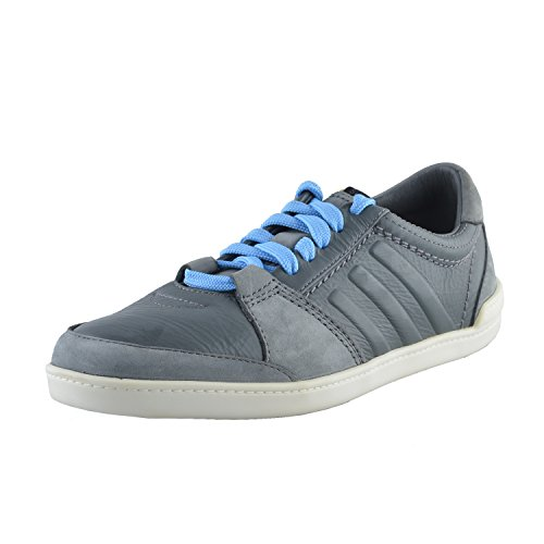 Adidas SLVR Mens Gray Suede Leather Fashion Sneakers Shoes US 7 IT 40