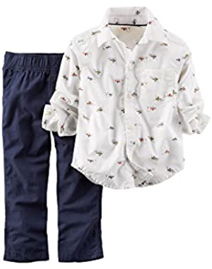 Carter's 2-Piece Shirt & Pant Set - 3 Months