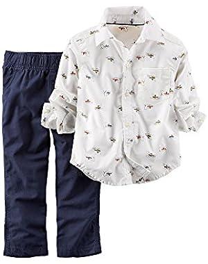 Carter's 2-Piece Shirt & Pant Set - 3 Months