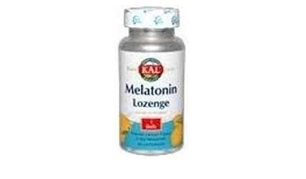 Melatonina Kal 120 comprimidos de 1 mg de Solaray: Amazon.es: Salud y cuidado personal