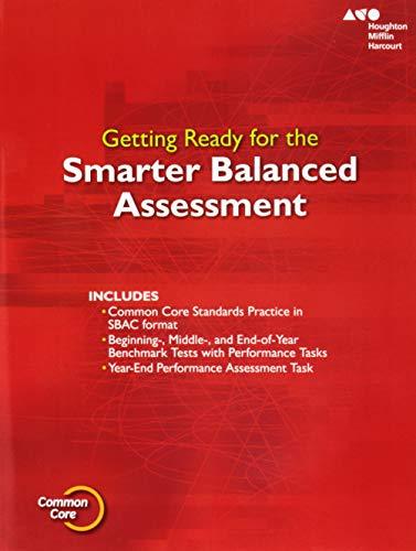 Go Math!: SBAC Test Prep Student Edition Grade 6