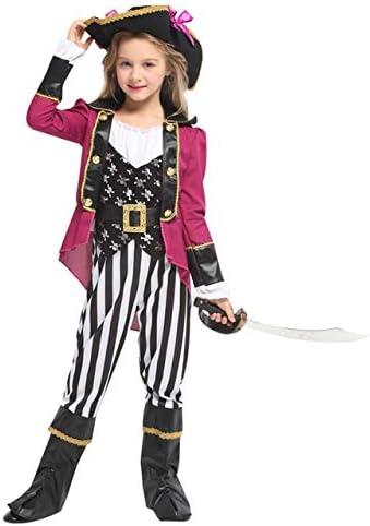 lkouq Halloween Caribbean Pirate Captain Jack Sparrow Tricorn ...