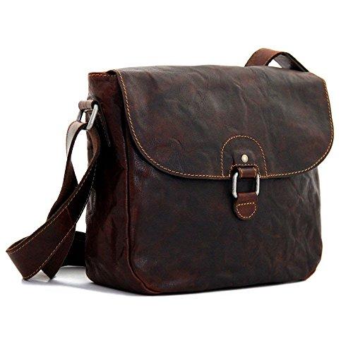 Jack Georges Voyager Saddle Bag 7839 (BROWN)