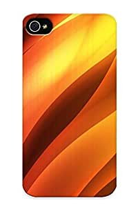 Defender Case For Iphone 4/4s, Flames Pattern, Nice Case For Lover's Gift