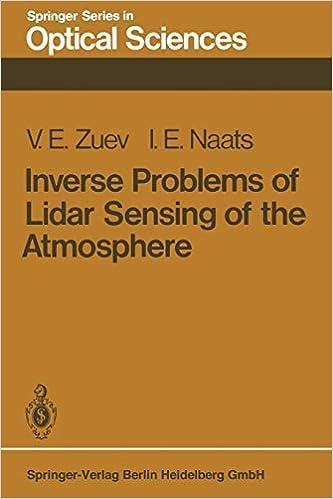 Torrent Descargar Español Inverse Problems Of Lidar Sensing Of The Atmosphere: Volume 29 Epub Libres Gratis