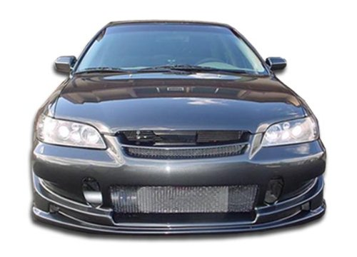 Duraflex Replacement for 1998-2002 Honda Accord 4DR Buddy Front Bumper Cover - 1 Piece