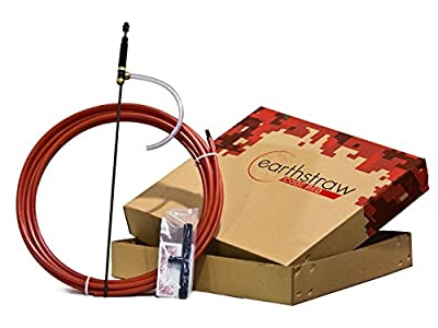 """EarthStraw """"Code Red"""" 100 Foot Hand Well Pump System"""