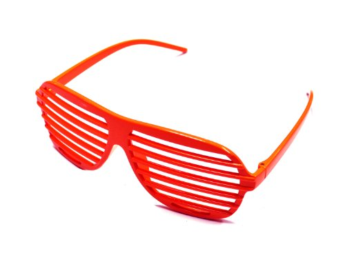 Underground Kulture Shutter Shades  / Novelty Fun Shades Red