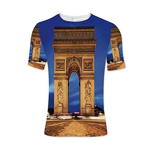 Paris Decor Fashionable T Shirt,for -