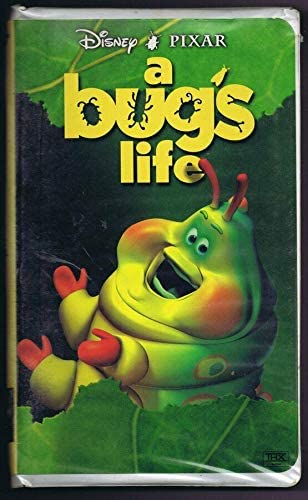 A Bug S Life Original Vintage Vhs Clamshell Edition Disney Pixar At Amazon S Sports Collectibles Store