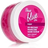 Bath and Body Work True Blue Spa 60 Second Manicure Hand Scrub Just A Minute 5 Ounce