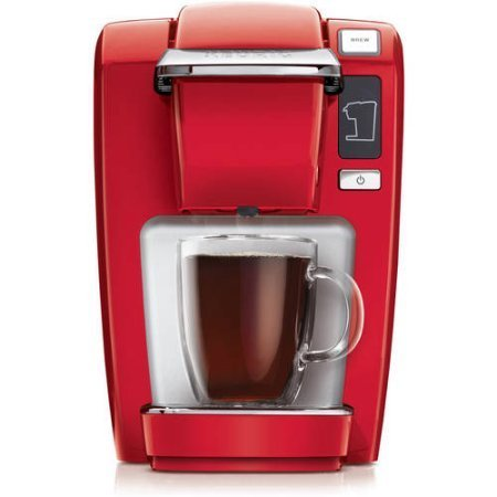 Red Compact Personal 10 oz. Coffee Maker by Keurig