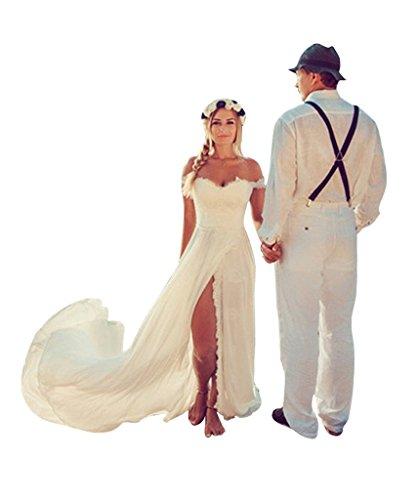 Off The Shoulder Wedding - 8