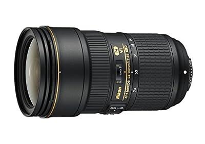 Nikon AF-S FX NIKKOR 24-70mm f/2.8E ED Vibration Reduction Zoom Lens with Auto Focus for Nikon DSLR Cameras by Nikon