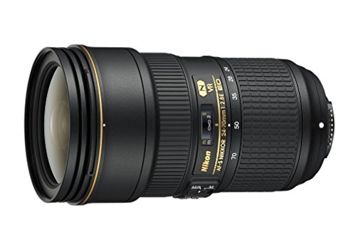 Nikon AF-S FX NIKKOR 24-70mm f/2.8E ED Vibration Reduction Zoom Lens with Auto Focus for Nikon DSLR Cameras (Nikkor 24 70mm F 2-8 G Ed)