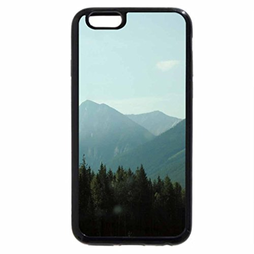 iPhone 6S / iPhone 6 Case (Black) The Rockies mountains in BC - Canada 37