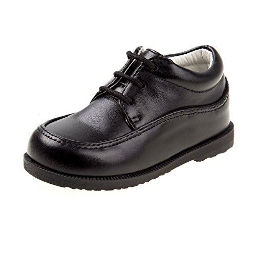 (Josmo Boy's Walking Dress Shoe(Infant, Toddler) (7 M US Toddler, Black Lace)')