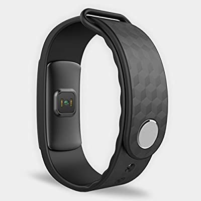 Heart Rate Monitor,Smart Bracelat OLED IP67 Waterproof Fitness Pedometer Sleep Monitor Smart Watch Sports Wristband Fitness Activity Tracker for IOS & Android Smartphone Black