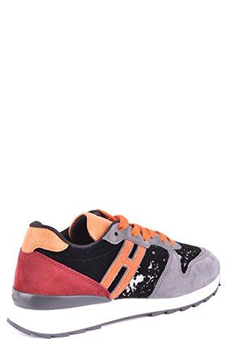 Hogan Damen MCBI148452O Multicolour Wildleder Sneakers