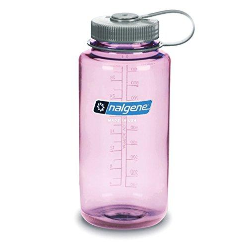 Nalgene BPA Free Tritan Wide Mouth Water Bottle, 32 Ozs, Cosmo