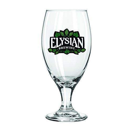 (Elysian Brewing Company Stemmed Pilsner Glass, 2-Pack)