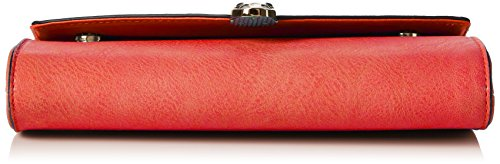 Women's SwankySwans Snakehead Scarlet Red Clutch Clutch Leather Bali gU6wxHUv