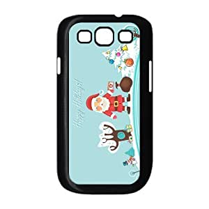 Custom Christmas Back Cover Case for SamSung Galaxy S3 I9300 JNS3-334