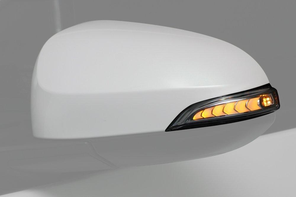 トヨタ カムリ オーリス他 LED ドアミラーウインカーレンズ オプションランプホワイト 流れるウインカー … B07213B564 ホワイト ホワイト