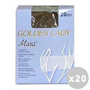 Glooke Selected Mara Juego 20Mara Medias 20den Melon Talla XL 70A