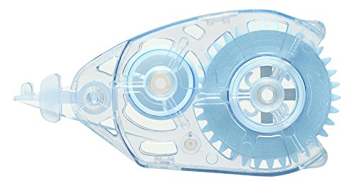 Pentel ZTFR5-W Pack of 12 Refills for Mini Correction Tape Dispenser